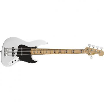 Custom Vintage Modified Jazz Bass® V Olympic White - Default title