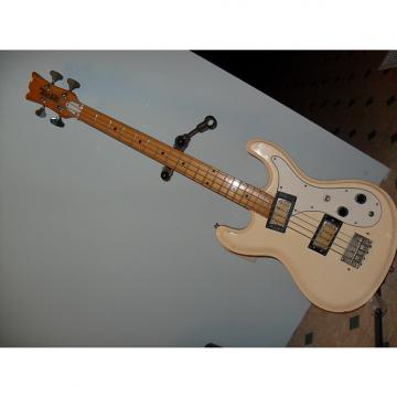 Custom Univox Hi Flier bass mid 70's white/white