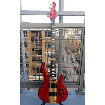 Custom Peavey Rudy Sarzo Model Bass 1989 Red