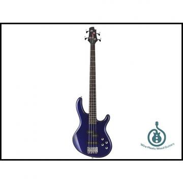 Custom Cort Action Bass Plus 4-String, PJ Pickup Set, 2-Band Eq, Lightweight, Blue Metallic, Free Shipping.