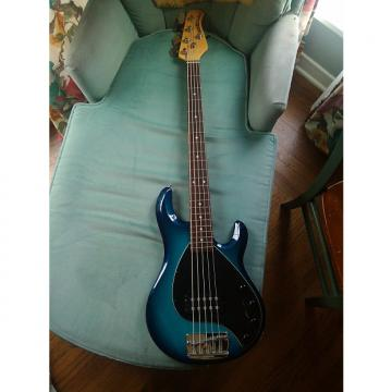 Custom Ernie Ball Music Man Stingray 5 2001 Blue Dawn