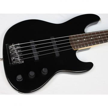 Custom 1992 Fender USA Jazz Plus V 5-String Bass w/OHSC, Black, Rosewood FB #40498
