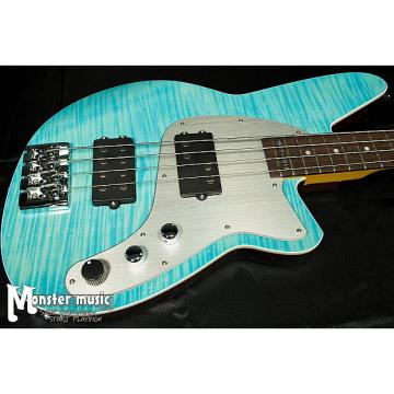 Custom Reverend Mercalli 4 - 20th Anniversary Bass in Sky Blue Flame Maple - Only one on Reverb!