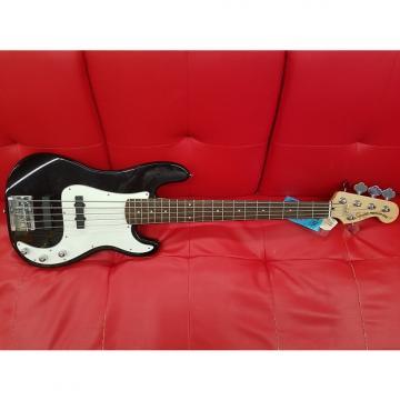 Custom Squier 5-String Precision Bass Standard  Black Sparkle