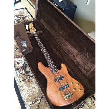 Custom Fender Victor Bailey Jazz bass 2008 Natural koa