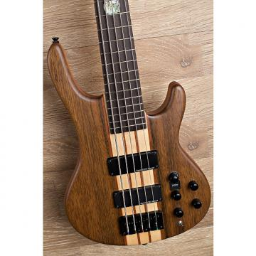 Custom 2017 Wolf 5W Walnut Natural 5 String Bass 2 of 29