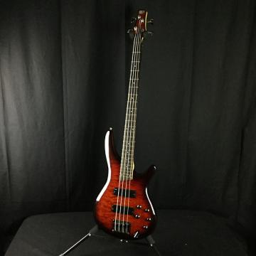 Custom Ibanez SR400QM Active Bass Guitar (Used)