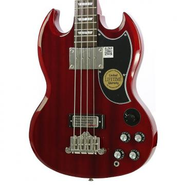 Custom Used 2016 Epiphone EB-3 Cherry Electric Bass