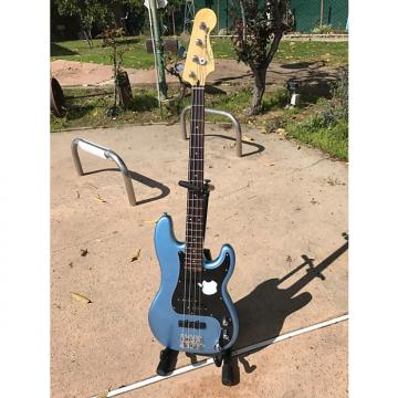 "Custom Squire Vintage Modified Precision ""PJ"" Bass recent Lake Placid Blue"