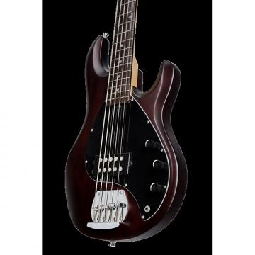 Custom Sterling by Music Man Ray5 Sub 5 String Bass Walnut Satin
