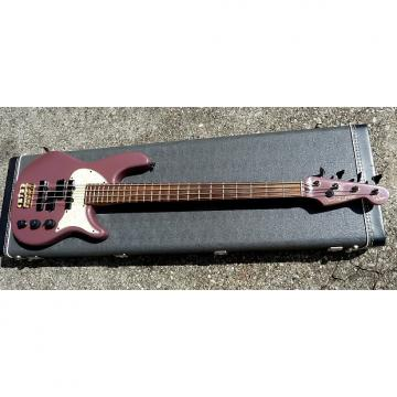 Custom Fender Stu Hamm Urge Bass USA Made Precision & Jazz Pickups  1991 Burgandy Mist W Original Hard Case
