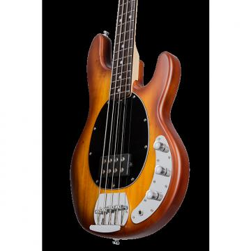 Custom Sterling by Music Man Ray4 Sub Bass Honey Burst Satin
