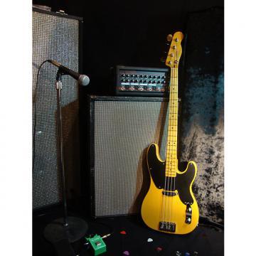Custom G'Zan Custom Guitars The Old Boy Bass 2017 Transparent Butterscotch
