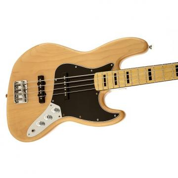 Custom Squier Vintage Modified Jazz Bass 70s Natural