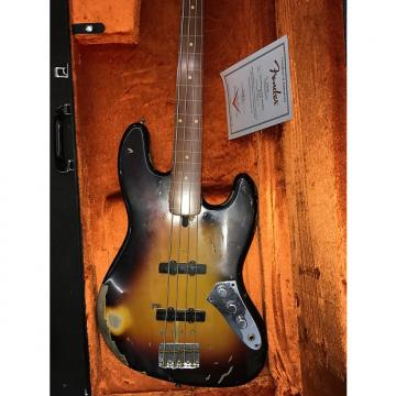 Custom Fender jaco pastorius jazz bass 2008 sunburst