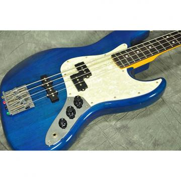 Custom Fender Japan Jazz Bass 62/PL Transparent Blue