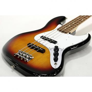 Custom Fender Japan Jazz Bass Standard 3 Tone Sunburst