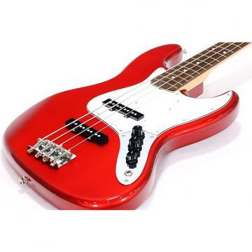 Custom Fender Japan Jazz Bass Standard Candy Apple Red