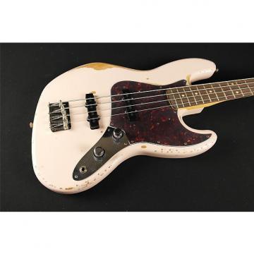 Custom Fender Signature Model FLEA Jazz Bass, Rosewood Fingerboard, Roadworn Shell Pink (195)