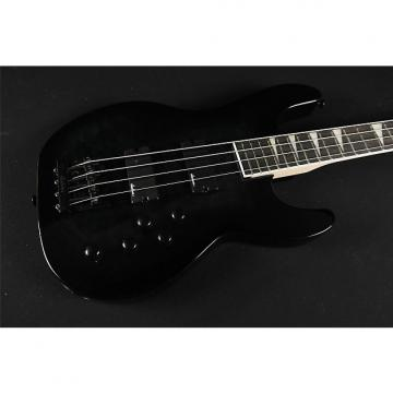 Custom New 2017! Jackson JS Series Concert Bass JS3Q, Rosewood Fingerboard, Transparent Black (326)