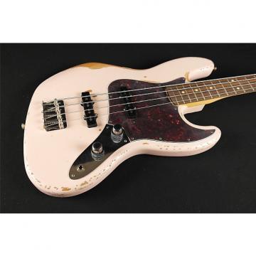 Custom Fender Signature Model FLEA Jazz Bass, Rosewood Fingerboard, Roadworn Shell Pink (624)