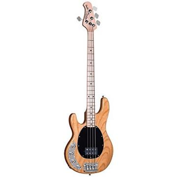 Custom Sterling by Music Man Ray34 Left Handed Bass Natural