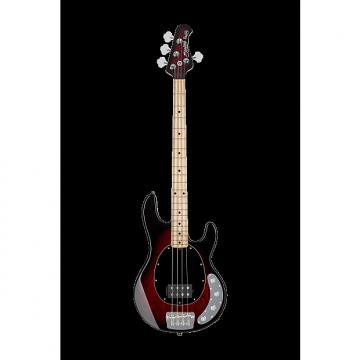 Custom Sterling by Music Man Ray34 StingRay Bass Red Ruby Burst