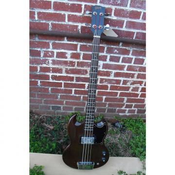 Custom Gibson EB-0 long scale w/OHC 1973ish Dark Cherry
