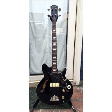 Custom Epiphone Jack Casady Signature Bass Black