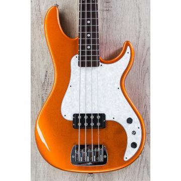 """Custom G&L USA Kiloton Bass, Tangerine Metallic, Rosewood Fretboard, 1.5"""" Nut Width"""