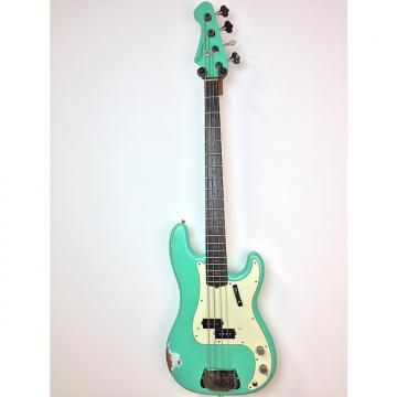Custom Bluesman Vintage Deville 2016 Seafoam Green with Reverse Matching Headstock