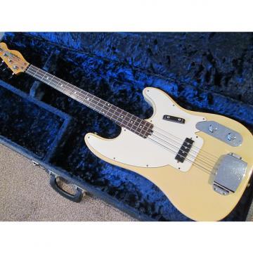 Custom Shaftesbury telecaster bass early seventies butterscotch
