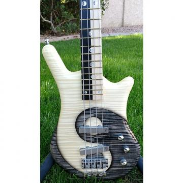 Custom Warwick Thumb BO 4 Ying Yang Finish SO 15-2995 2016 Custom Finish, yin, four string