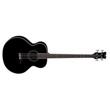 Custom Dean Acoustic-Electric Bass, Classic Black