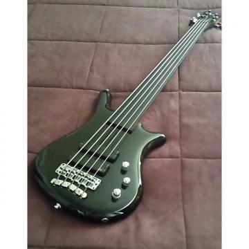 Custom Warwick Thumb German Custom 5 Broadneck Bolt On Fretless Bass!