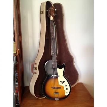 Custom 1965 Kay 5915 Bass Speed Demon With Original Case