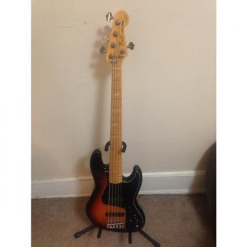 Custom Fender USA Marcus Miller Jazz Bass V w/ Aguilar noisless pickups 3 Color Sunburst