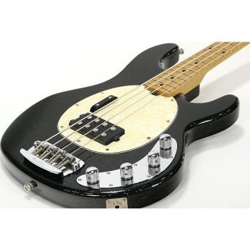Custom Music Man Sting Ray 4 Black Sparkle
