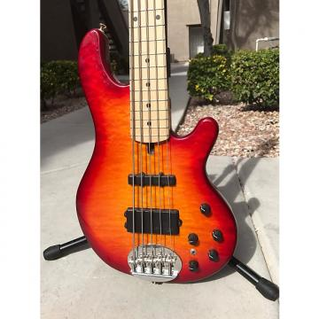 Custom Lakland 55-02 Deluxe 2005 Cherry Burst
