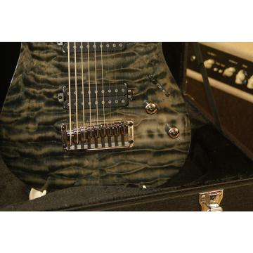 Custom Ibanez RG9QM Black Ice