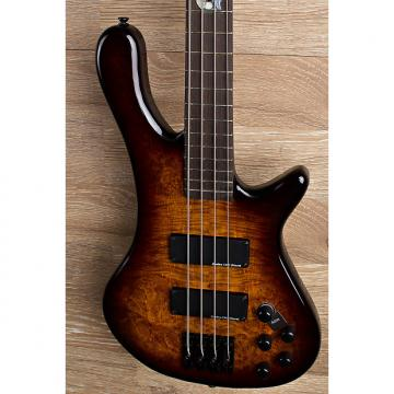 Custom 2017 Wolf S8 4 String Active Passive Jazz Bass Sunburst [6 out of 8]