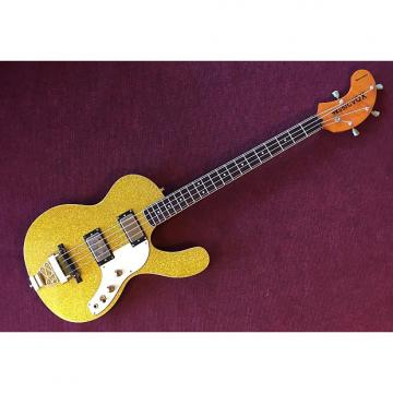 Custom Musicvox Spaceranger Bass Gold Sparkle/Gold Hardware