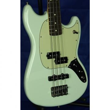 Custom Fender Offset Series Mustang PJ 4-String Short Scale Bass 2016 Sonic Blue