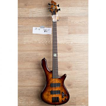 Custom 2017 Wolf S8 4 String Active Passive Jazz Bass Sunburst [3 out of 8]