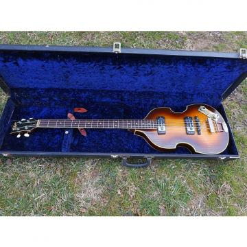 "Custom Hofner  500/1 Beatle Bass, 1967, Sunburst, ""Player"" Case"
