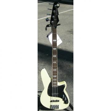 Custom Reverend NOS Justice Bass Cream / Vintage White