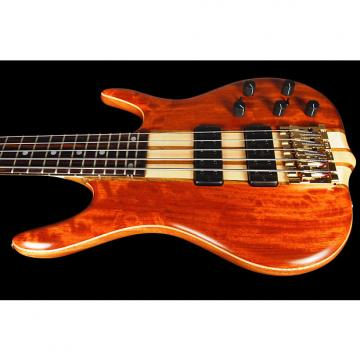Custom 2017 Ken Smith 5GN BSR Body Style 5-String Bass w 5-PC Body, Bubinga Top & Back w/ Neck Thru ~ DEMO