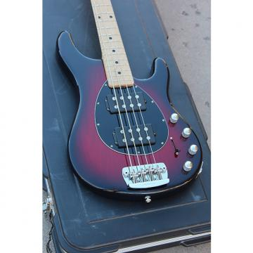 Custom 2008 Ernie Ball Music Man Sterling 4 HH 4-String Electric Bass Cherryburst Finish + OHSC