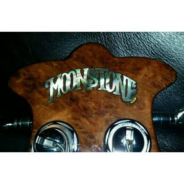 Custom Moonstone Earth Axe 1976 Natural Gloss Maple Burl