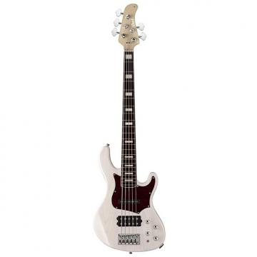 Custom Cort GB Series GB75 5-String Electric Bass Guitar, White Blonde, Free Shipping